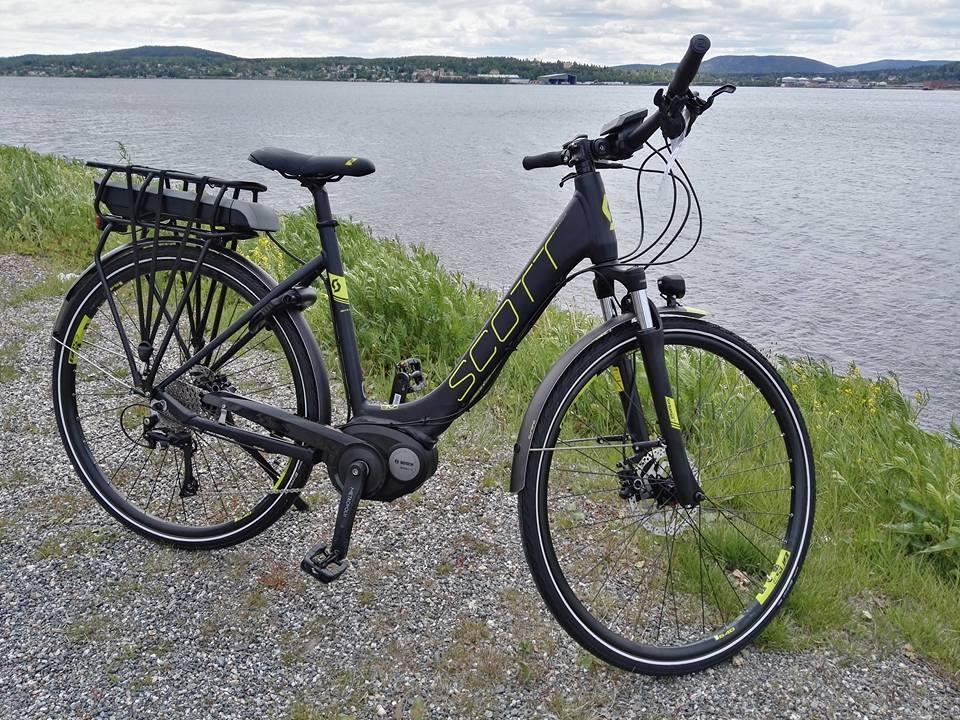 Elcykel från Scott